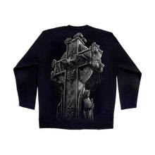 Load image into Gallery viewer, GOTH  - Longsleeve T-Shirt Black