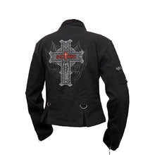Load image into Gallery viewer, GOTH  - Orient Goth Women Jacket Black