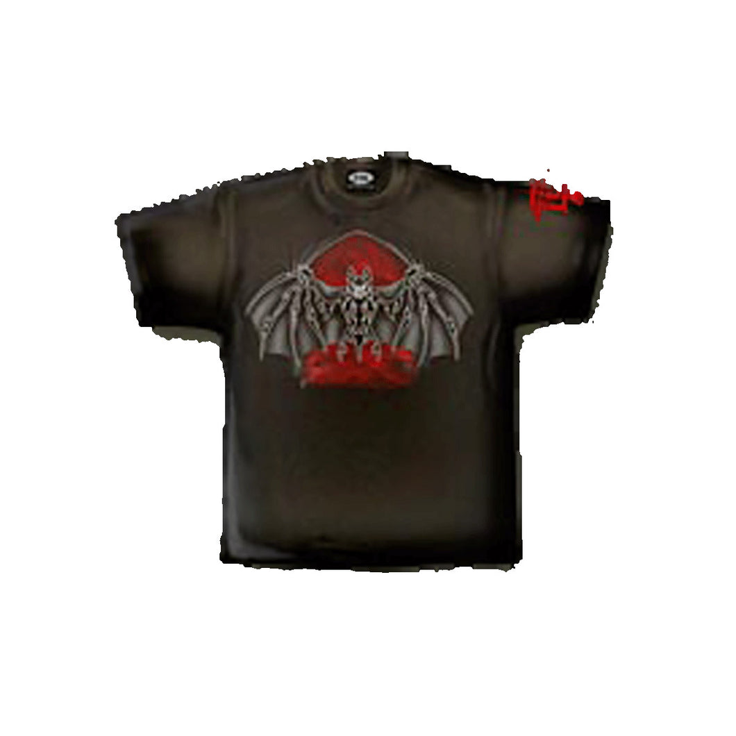 BAT VAMP  - T-Shirt Black