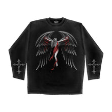 Load image into Gallery viewer, GOTH WINGS  - Longsleeve T-Shirt Black