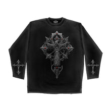 Load image into Gallery viewer, REAPERS CRYPT  - Longsleeve T-Shirt Black