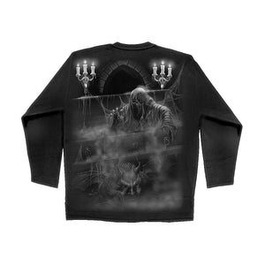 REAPERS CRYPT  - Longsleeve T-Shirt Black