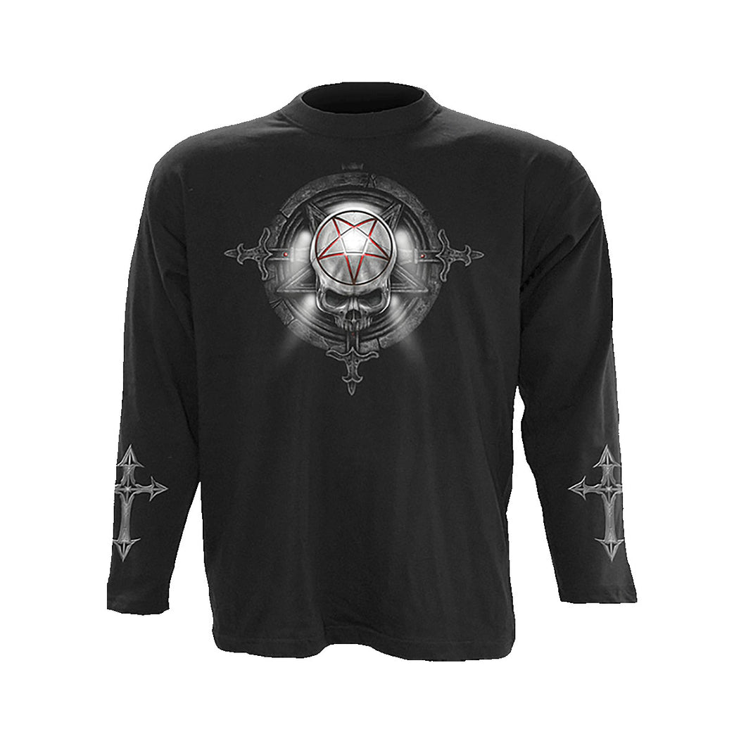 CHURCH OF GOTH  - Longsleeve T-Shirt Black