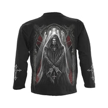 Load image into Gallery viewer, CHURCH OF GOTH  - Longsleeve T-Shirt Black