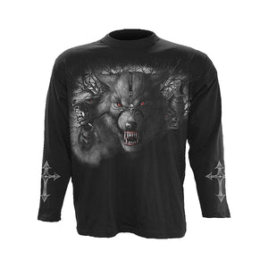 NIGHT OF THE WOLVES  - Longsleeve T-Shirt Black