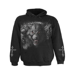 NIGHT OF THE WOLVES  - Hoody Black