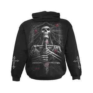 SPIDER CRYPT  - Hoody Black