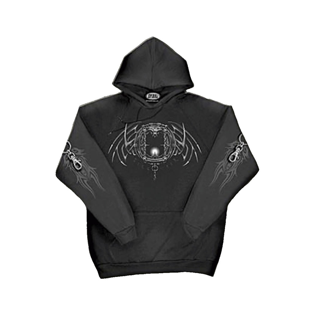 DEATH SKULL  - Hoody Black