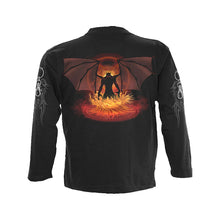 Load image into Gallery viewer, GATES OF HELL  - Longsleeve T-Shirt Black