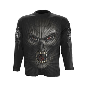 STITCHED UP  - Longsleeve T-Shirt Black