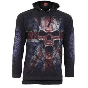 UNION WRATH - Fine Cotton Summer Hoody Black