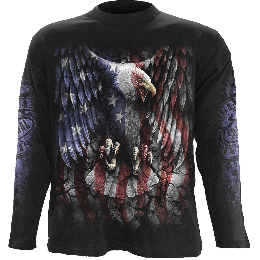 LIBERTY USA - Longsleeve T-Shirt Black