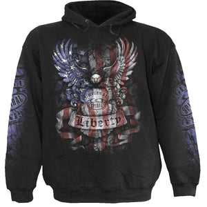 LIBERTY USA - Hoody Black