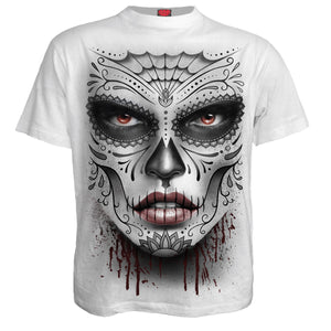 DEATH MASK - T-Shirt White