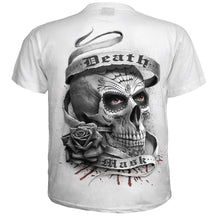Load image into Gallery viewer, DEATH MASK - T-Shirt White