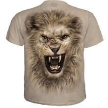 Load image into Gallery viewer, TRIBAL LION - T-Shirt Stone