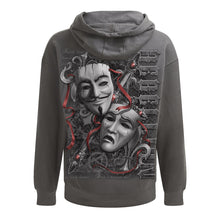 Load image into Gallery viewer, REBELLION - Hoody Charcoal