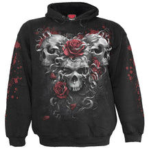 Load image into Gallery viewer, SKULLS N ROSES - Kids Hoody Black