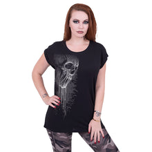 Load image into Gallery viewer, BAT CURSE - Turnup Sleeve Loosefit Tee