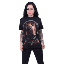 Load image into Gallery viewer, DAWG - Front Print T-Shirt Black