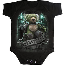 Load image into Gallery viewer, FRANKENTED - Baby Sleepsuit Black