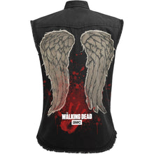 Load image into Gallery viewer, DARYL WINGS - Walking Dead Ladies Sleeveless Worker Shirt