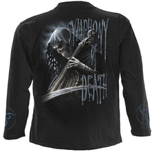 Load image into Gallery viewer, SYMPHONY OF DEATH - Longsleeve T-Shirt Black