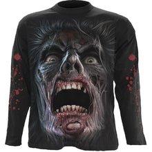Load image into Gallery viewer, NIGHT WALKERS - Longsleeve T-Shirt Black