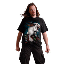 Load image into Gallery viewer, RABBIT HOLE - Front Print T-Shirt Black