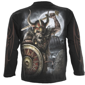 VIKING UNDEAD - Longsleeve T-Shirt Black