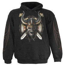 Load image into Gallery viewer, VIKING UNDEAD - Hoody Black