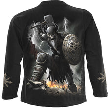 Load image into Gallery viewer, CELTIC WARRIOR - Longsleeve T-Shirt Black