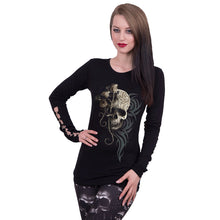 Load image into Gallery viewer, DARK ANGEL - Buckle Cuff Long Sleeve Top