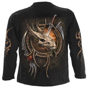 CENTAUR SLAYER - Longsleeve T-Shirt Black