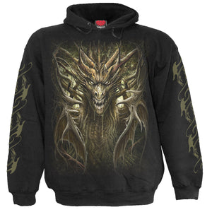 DRAGON FOREST - Hoody Black