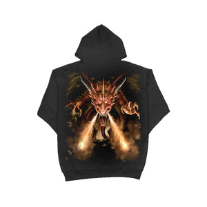 UNLEASHED  - Hoody Black