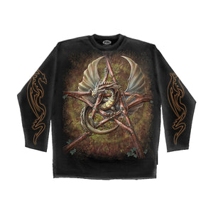 PAGAN FOREST  - Longsleeve T-Shirt Black