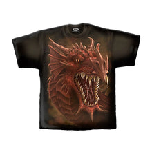 Load image into Gallery viewer, DRAGONS ROAR  - T-Shirt Black