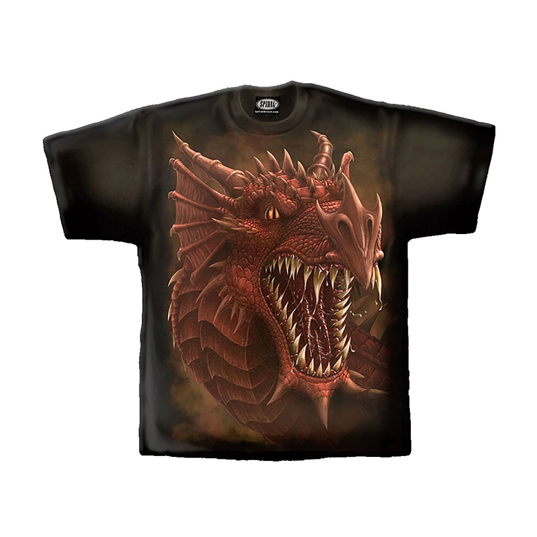 DRAGONS ROAR  - T-Shirt Black