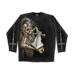 WRAITH WARRIOR  - Longsleeve T-Shirt Black