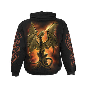 FIRE BREATHER  - Hoody Black
