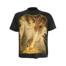 Load image into Gallery viewer, DRAGON ATTACK  - T-Shirt Black
