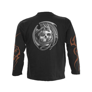 DRAGON ATTACK  - Longsleeve T-Shirt Black