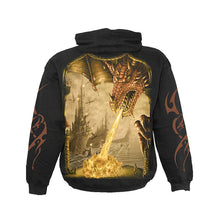 Load image into Gallery viewer, DRAGON ATTACK  - Hoody Black