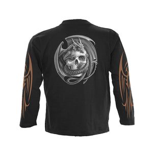 BROKEN WINGS  - Longsleeve T-Shirt Black