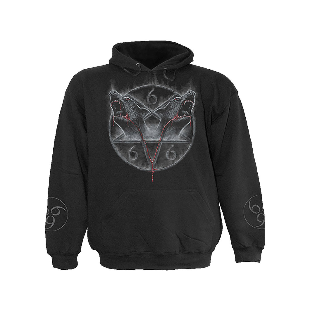 HOUNDS OF HELL  - Hoody Black