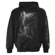 Load image into Gallery viewer, DEVOLUTION - Full Zip Hoody Black