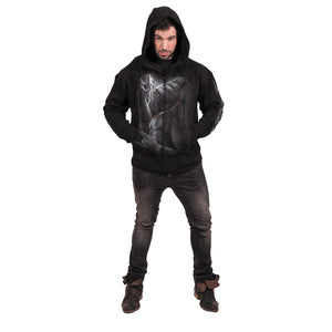 DEVOLUTION - Full Zip Hoody Black