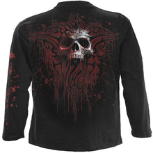 Load image into Gallery viewer, DEATH BLOOD - Longsleeve T-Shirt Black