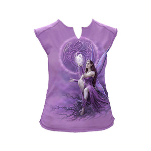 CELTIC FAIRY  - All Over Sleeveless InsideOut Purple